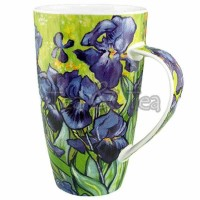 Kubek Henley Impressionists Irises 600ml wys.15cm Dunoon