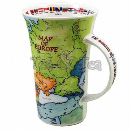 Kubek Glencoe Map of Europe 500ml Dunoon