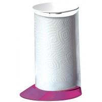 Stojak na ręczniki papierowe Glamour Bugattti fioletowy