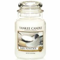 Świeca duża Yankee Candle Baby Powder