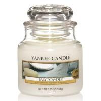 Świeca mała Yankee Candle Baby Powder