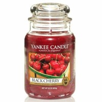 Świeca duża Yankee Candle Black Cherry