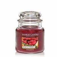 Świeca średnia Yankee Candle Black Cherry