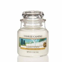 Świeca mała Yankee Candle Clean Cotton