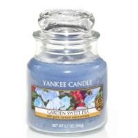 Świeca mała Yankee Candle Garden Sweet Pea