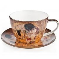 Filiżanka Pocałunek Gustaw Klimt 450ml English Collection