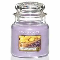 Świeca średnia Yankee Candle Lemon Lavender