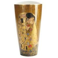 Wazon Pocałunek 28 cm Gustaw Klimt Goebel