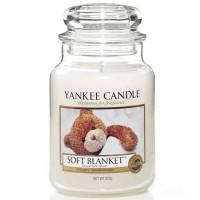 Świeca duża Yankee Candle Soft Blanket