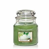 Świeca średnia Yankee Candle Vanilla Lime