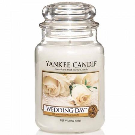 Świeca duża Yankee Candle Wedding Day