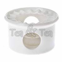 Podgrzewacz Elisabeth biały 13,5cm Tea Logic