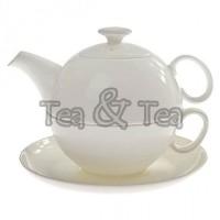 Tea for one Holly zestaw filiżanka 250ml z dzbankiem Tea Logic