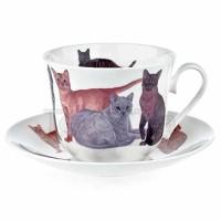 Filiżanka śniadaniowa Cats Galore 450ml Roy Kirkham