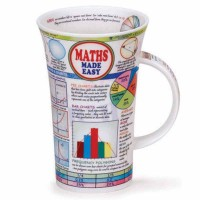 Kubek Glencoe Maths Made Easy 500ml Dunoon