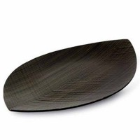 Taca wenge Leaf 44,5 x 25 cm Legnoart