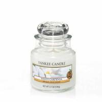 Świeca mała Yankee Candle White Gardenia
