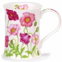 Kubek Cotswold Poppy Garden Pink 330ml Dunoon