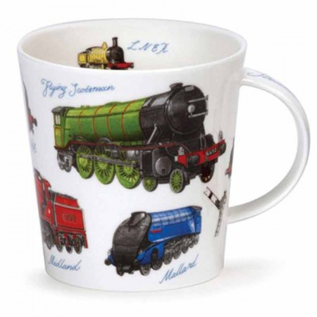 Kubek Cairngorm Classic Colletion Trains 480ml Dunoon