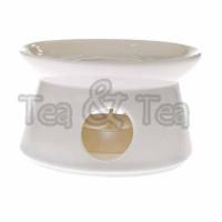 Podgrzewacz Epsilon biały 10,5 cm Tea Logic