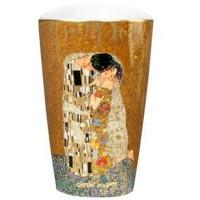Wazon Pocałunek 19cm Gustaw Klimt Goebel