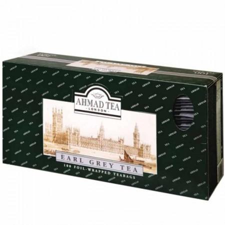 Herbata w saszetkach alu Earl Grey 100 szt AhmadTea