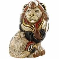 Figurka Lew siedzący 12 cm De Rosa Rinconada