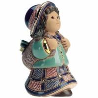 Figurka Dziewczynka z plecakiem 12 cm De Rosa Rinconada