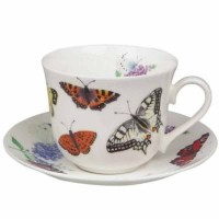 Filiżanka śniadaniowa Butterfly Garden 450ml Roy Kirkham