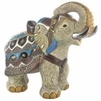 Figurka Słoń indyjski 26 cm De Rosa Rinconada