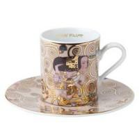 Filiżanka espresso Oczekiwanie 90ml Gustaw Klimt Goebel