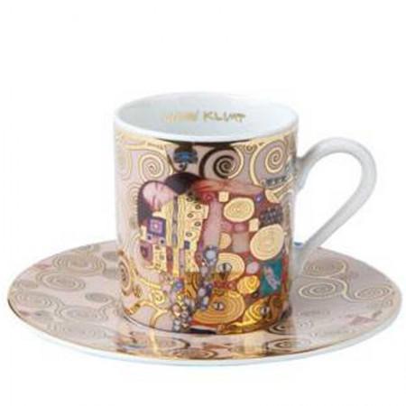 Filiżanka espresso Spełnienie 90ml Gustaw Klimt Goebel