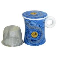 Kubek Woda z zaparzaczem i pokrywką 300ml Tea Logic