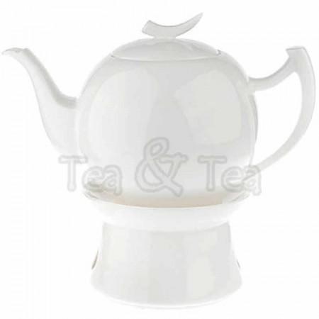Dzbanek Epsilon z podgrzewaczem biały 1,5l Tea Logic