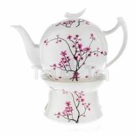 Dzbanek Kwiat Wiśni z podgrzewaczem 1,5l Tea Logic