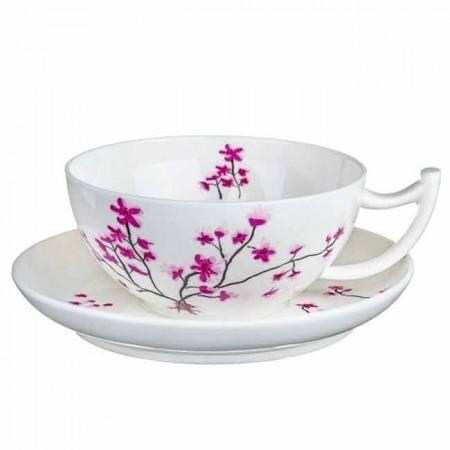 Filiżanka Kwiat Wiśni 300ml Tea Logic