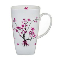 Kubek Kwiat Wiśni wysoki 500ml Tea Logic
