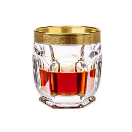 Komplet 6 szklanek do whisky 250 ml seria Bohemia Safari Gold