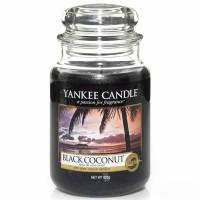Świeca duża Yankee Candle Black Coconut