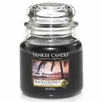 Świeca średnia Yankee Candle Black Coconut