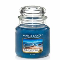 Świeca średnia Yankee Candle Turquoise Sky