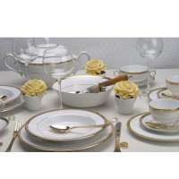 Serwis obiadowy Latina Gold dla 12-stu osób Villa Italia