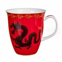 Kubek Zhu czerwony 350ml Tea Logic