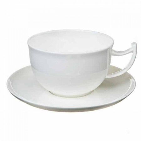 Filiżanka śniadaniowa Epsilon biała 500ml Tea Logic