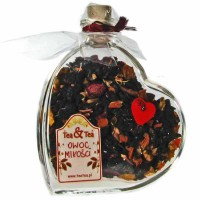 Serce z herbatą Owoc Miłości
