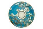Almond Tree  Vincent van Gogh Świecznik Porcelanowy Art Light śr 15cm Złocenia