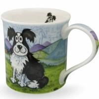Kubek Bute Daft Dogs Collie 250ml Dunoon