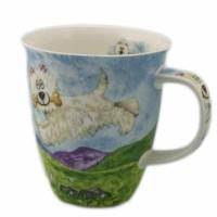 Kubek Nevis Highland Animals Westie 480ml Dunoon