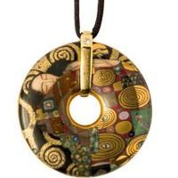 Naszyjnik Spełnienie Gustaw Klimt Goebel
