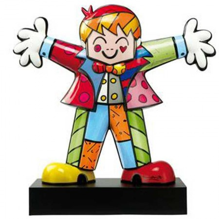 Figurka Hug Too 40cm Romero Britto Goebel